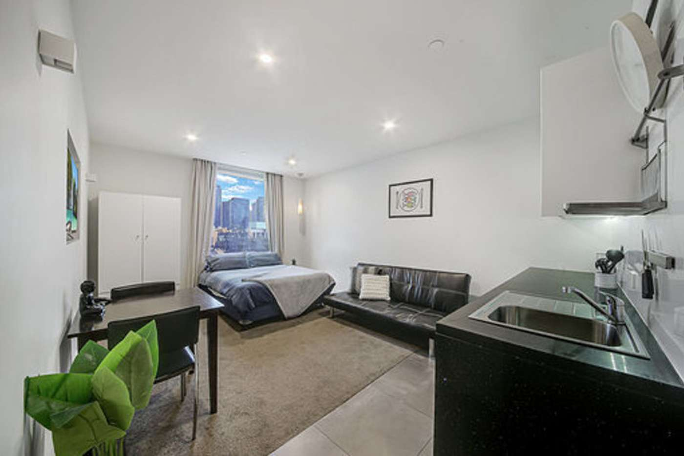 Main view of Homely studio listing, Level 7-4 500 Flinders Street, Melbourne VIC 3000