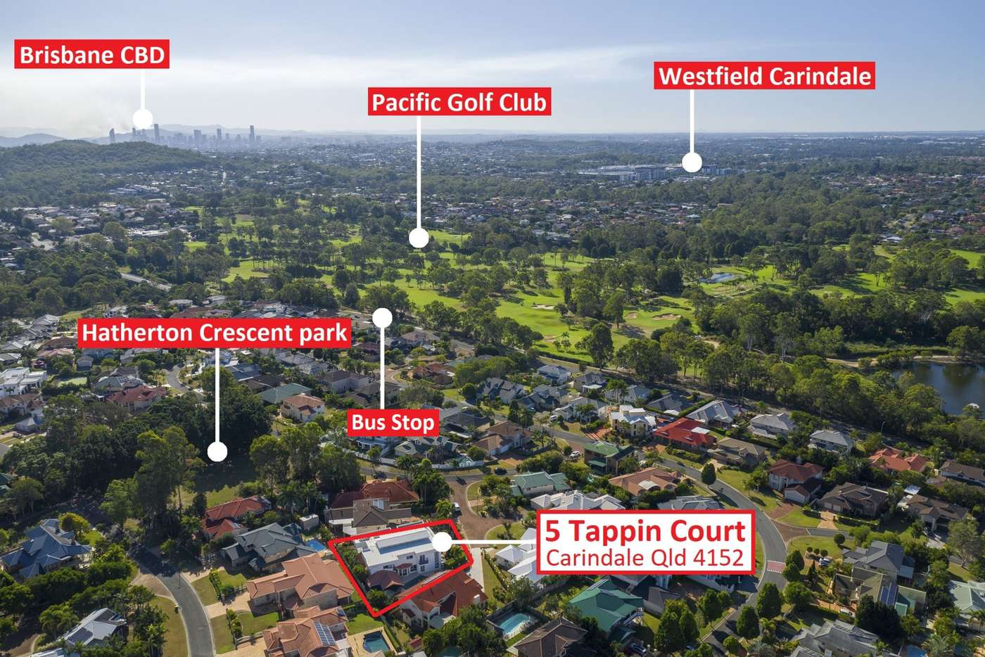 Sixth view of Homely house listing, 5 Tappin ct, Carindale QLD 4152