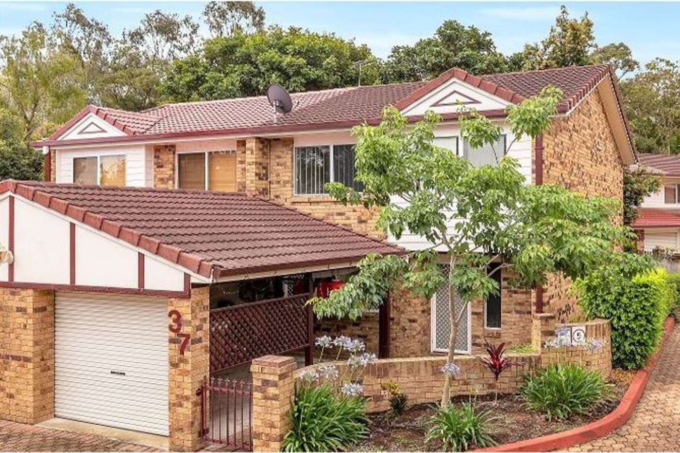 Main view of Homely townhouse listing, 37/68 Springwood road, Rochedale South QLD 4123