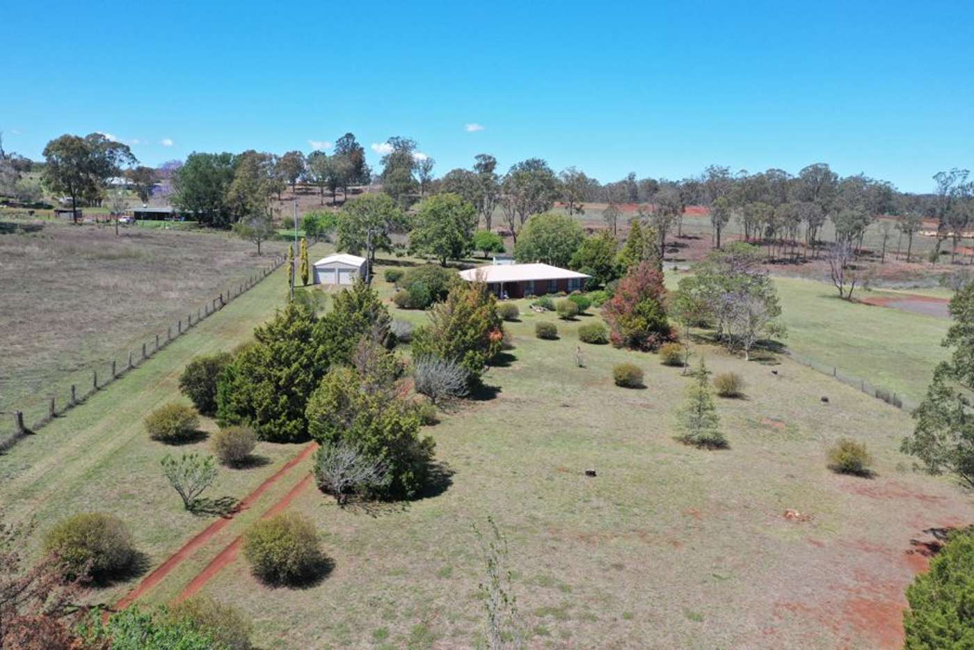 Main view of Homely acreageSemiRural listing, 87 Evans Road, Kleinton QLD 4352