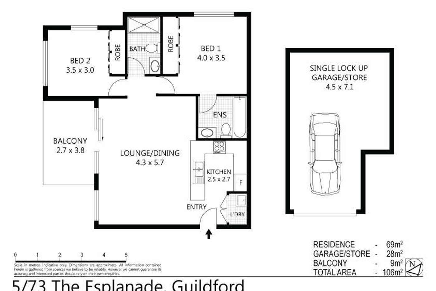 Sixth view of Homely unit listing, 5/73-75 The Esplanade, Guildford NSW 2161