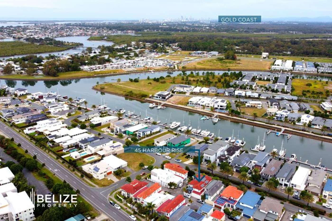 Main view of Homely house listing, 45 Harbour Rise, Hope Island QLD 4212