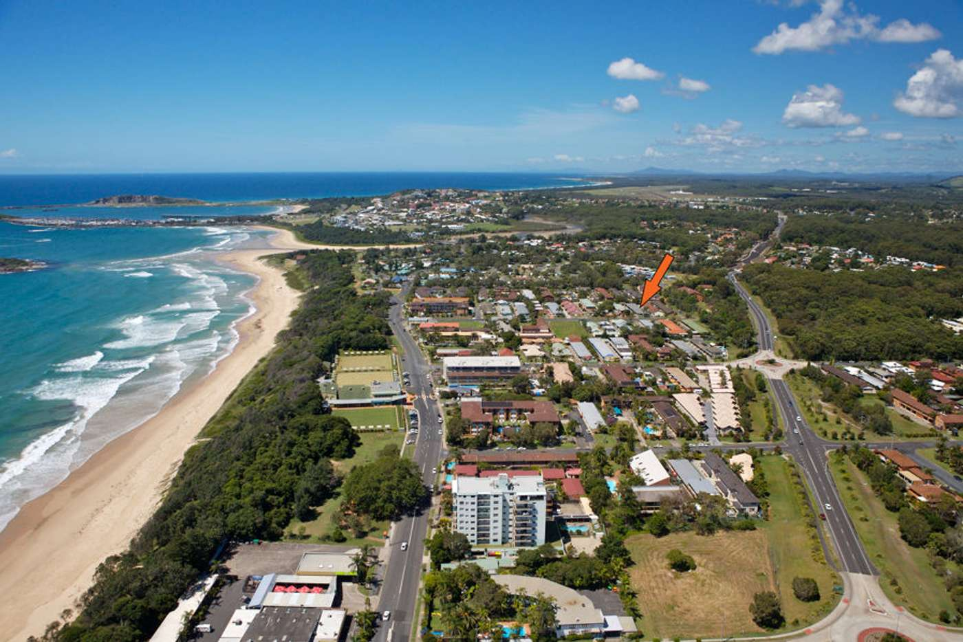 Main view of Homely unit listing, 6/19 Vincent Street, Coffs Harbour NSW 2450
