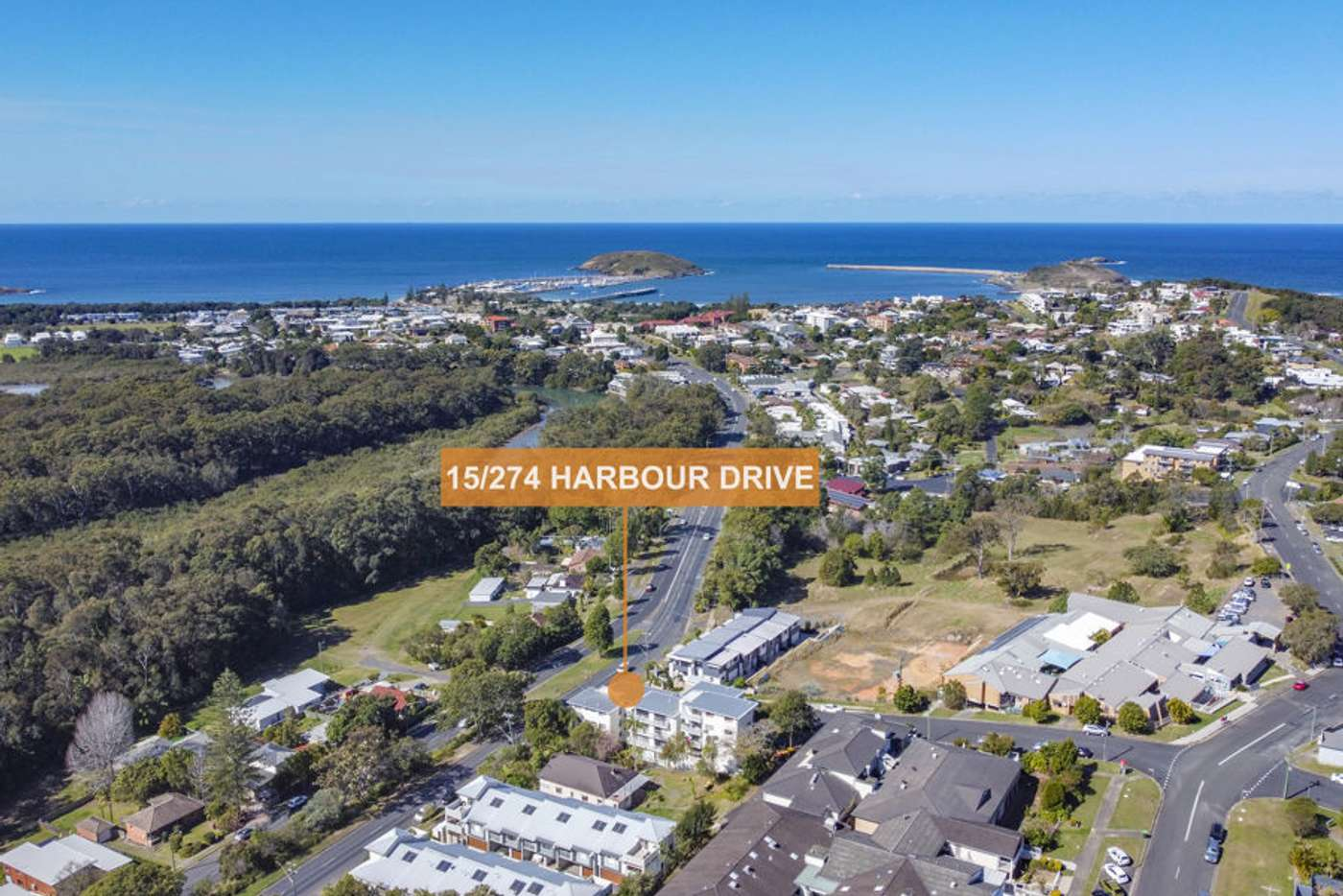 Main view of Homely apartment listing, 15/274 Harbour Drive, Coffs Harbour NSW 2450
