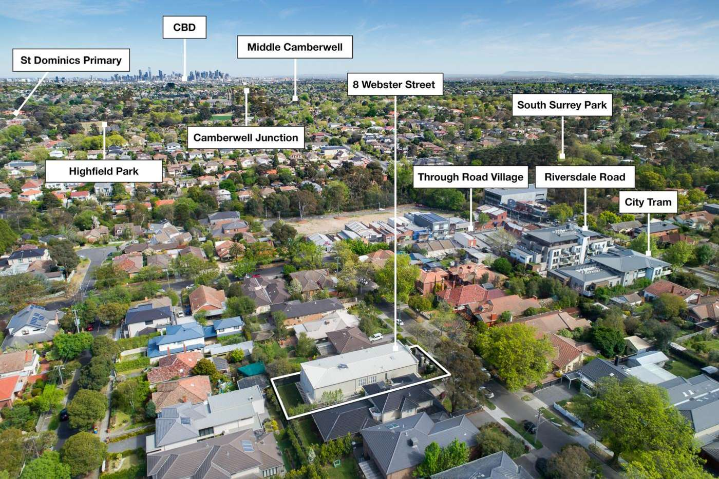 Sixth view of Homely house listing, 8 Webster Street, Camberwell VIC 3124