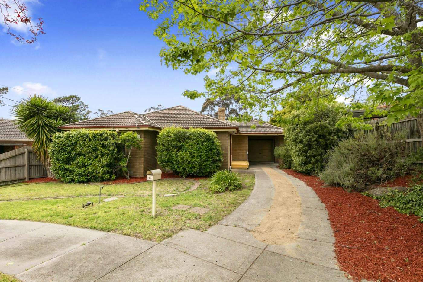 Main view of Homely house listing, 6 Turnberry Court, Frankston VIC 3199
