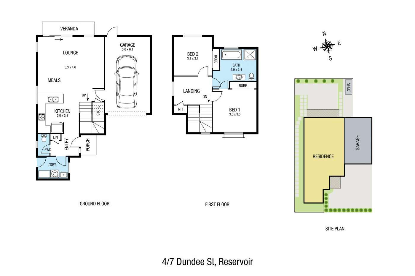 Seventh view of Homely house listing, 4/7 Dundee Street, Reservoir VIC 3073