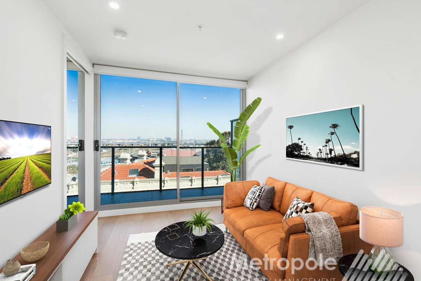 Main view of Homely apartment listing, 505/35 Dryburgh Street, West Melbourne VIC 3003