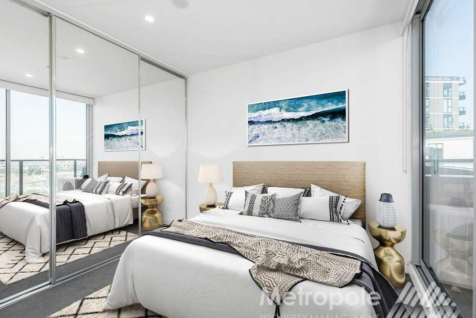 Second view of Homely apartment listing, 505/35 Dryburgh Street, West Melbourne VIC 3003
