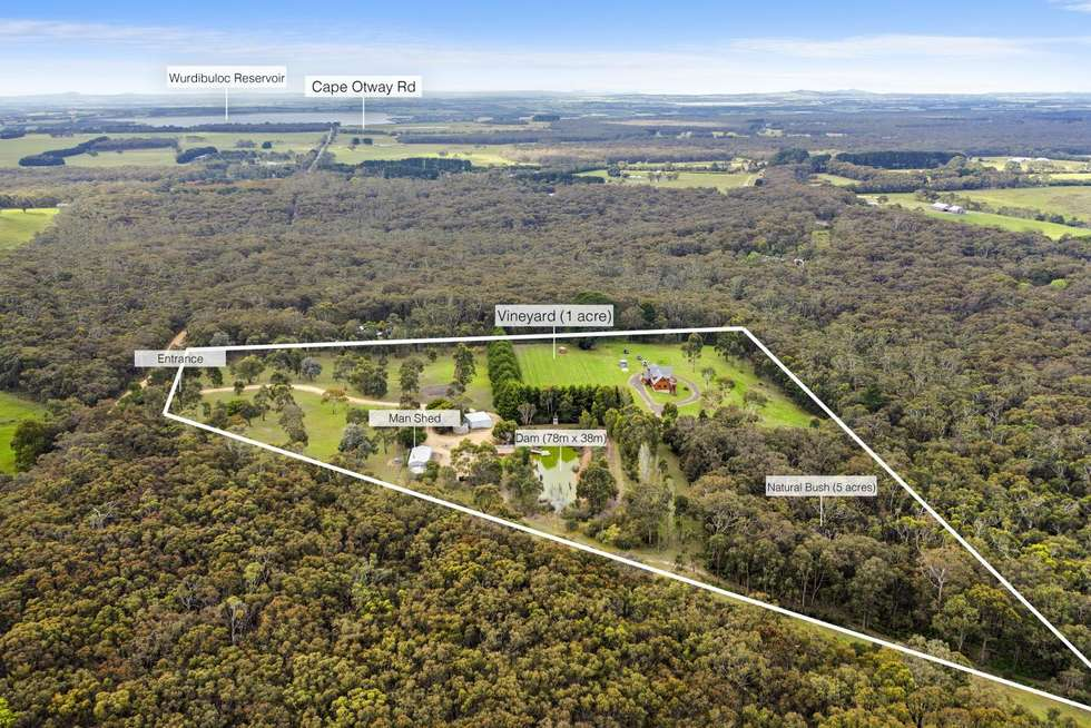 Fourth view of Homely acreageSemiRural listing, 150 CLARKES Road, Wensleydale VIC 3241