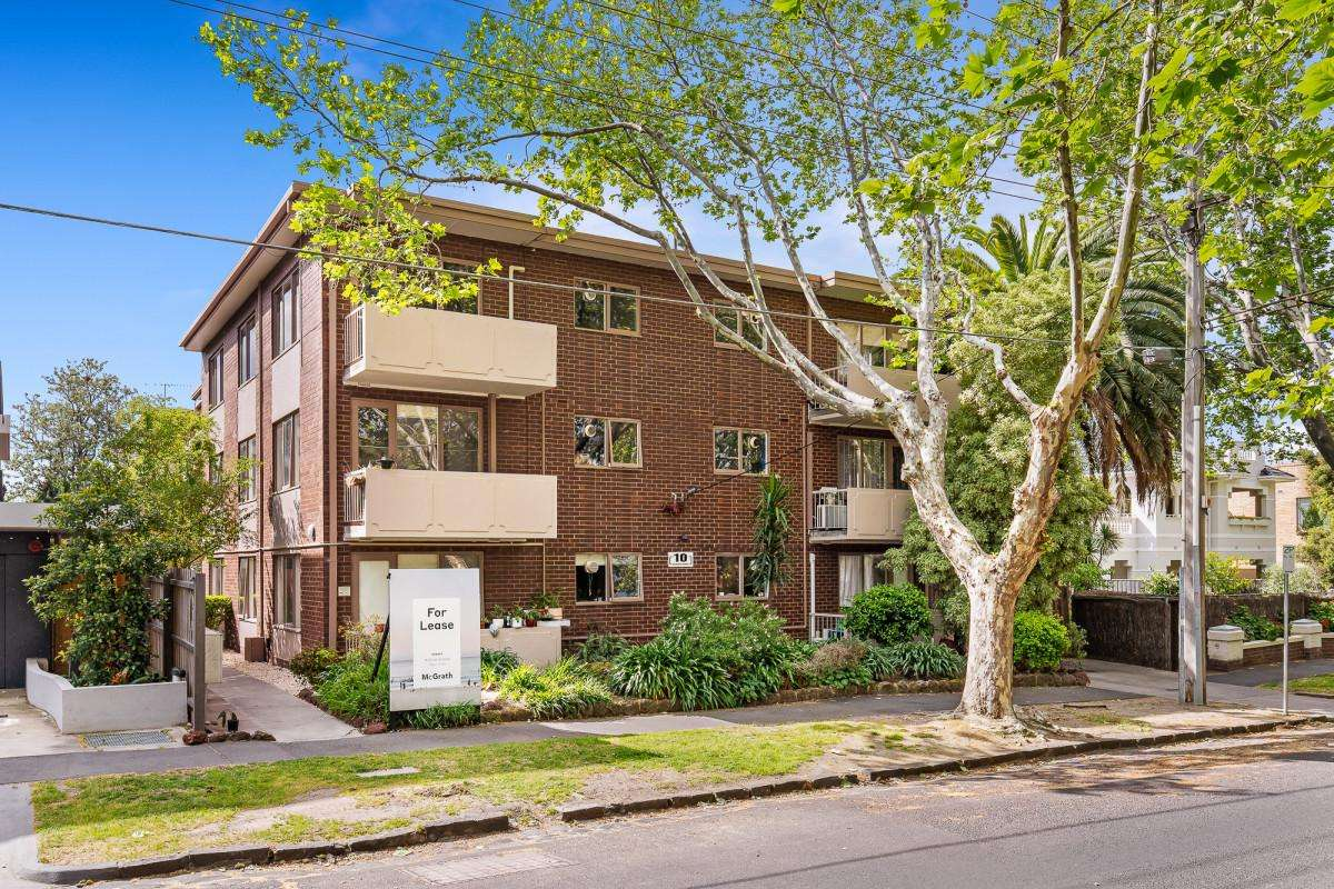 Main view of Homely apartment listing, 10/10 Dickens Street, Elwood, VIC 3184