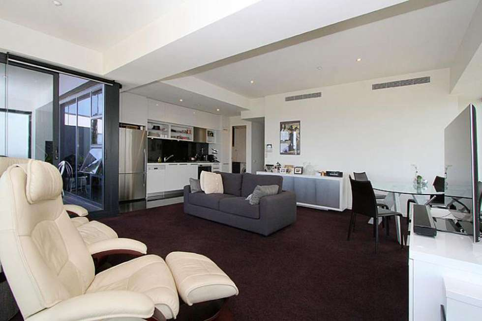 Third view of Homely apartment listing, 6404/7 Riverside Quay, Southbank VIC 3006