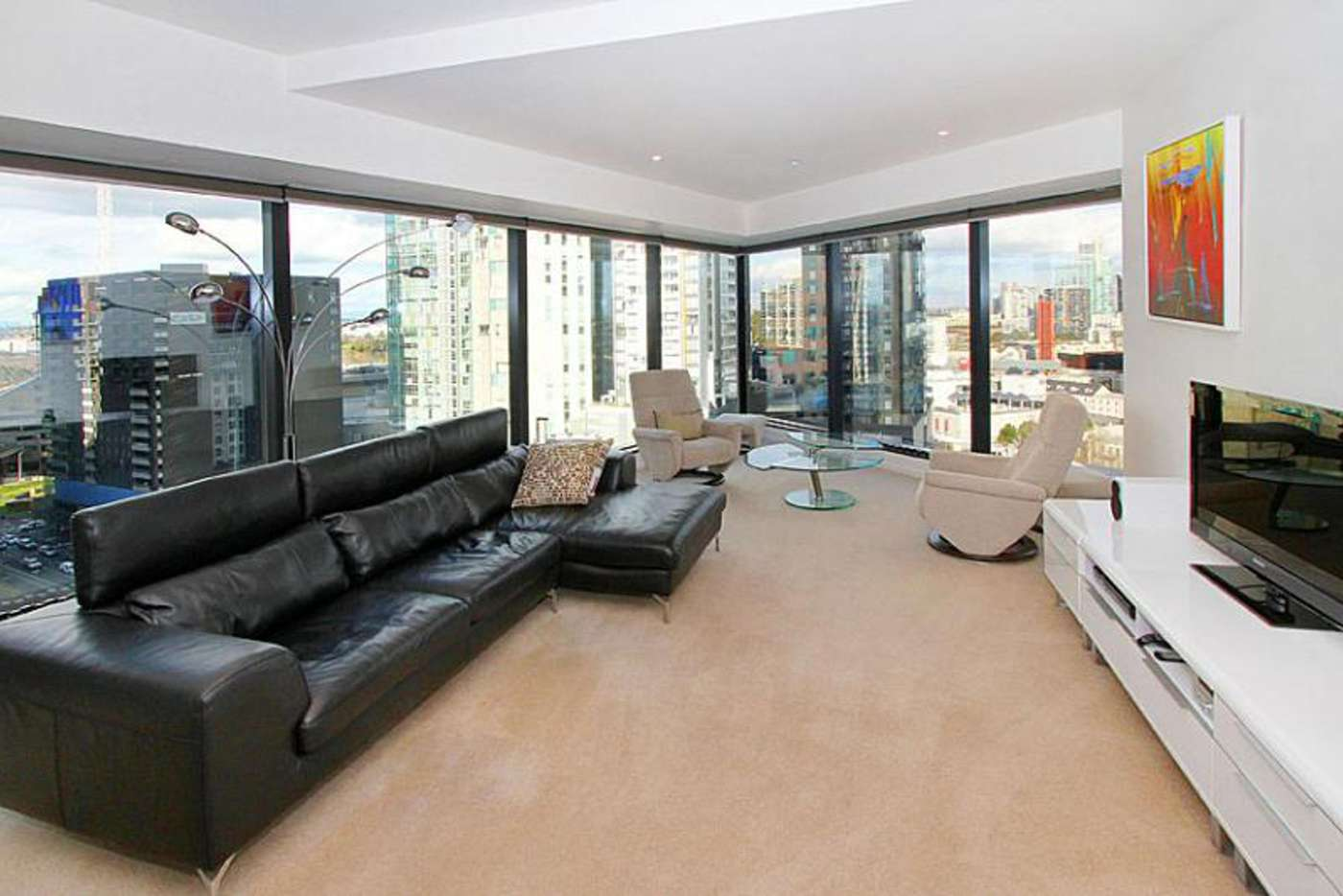 Main view of Homely apartment listing, 1602/7 Riverside Quay, Southbank VIC 3006