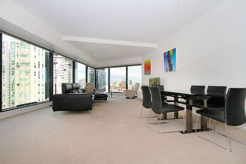 Second view of Homely apartment listing, 1602/7 Riverside Quay, Southbank VIC 3006