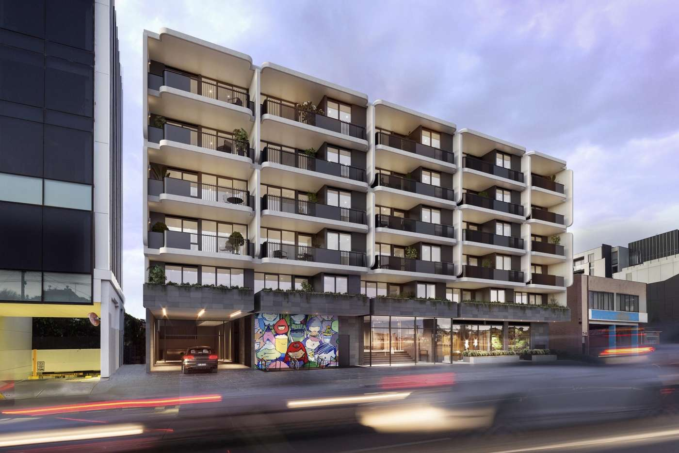 Main view of Homely apartment listing, 403/11-15 Brunswick Road, Brunswick East VIC 3057