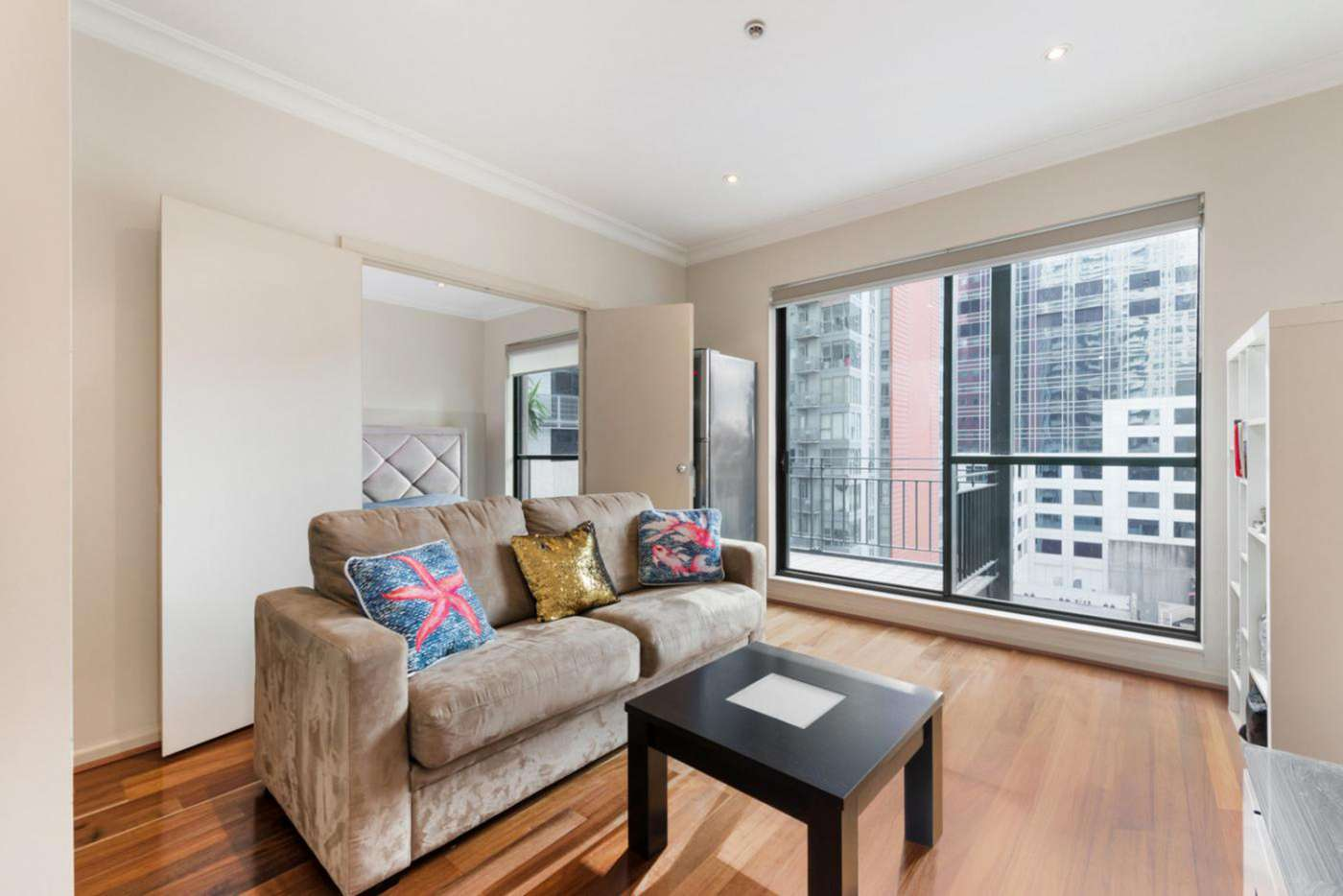 Main view of Homely apartment listing, 808/265 Exhibition Street, Melbourne VIC 3000