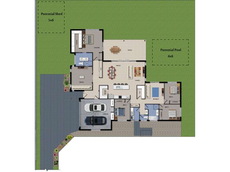 Main view of Homely house listing, Lot 16 Spurs Drive, Wellington Point, QLD 4160