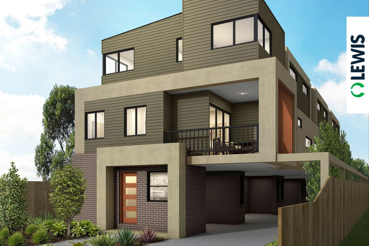 Main view of Homely townhouse listing, 2 & 3/445 Bell Street, Pascoe Vale South VIC 3044