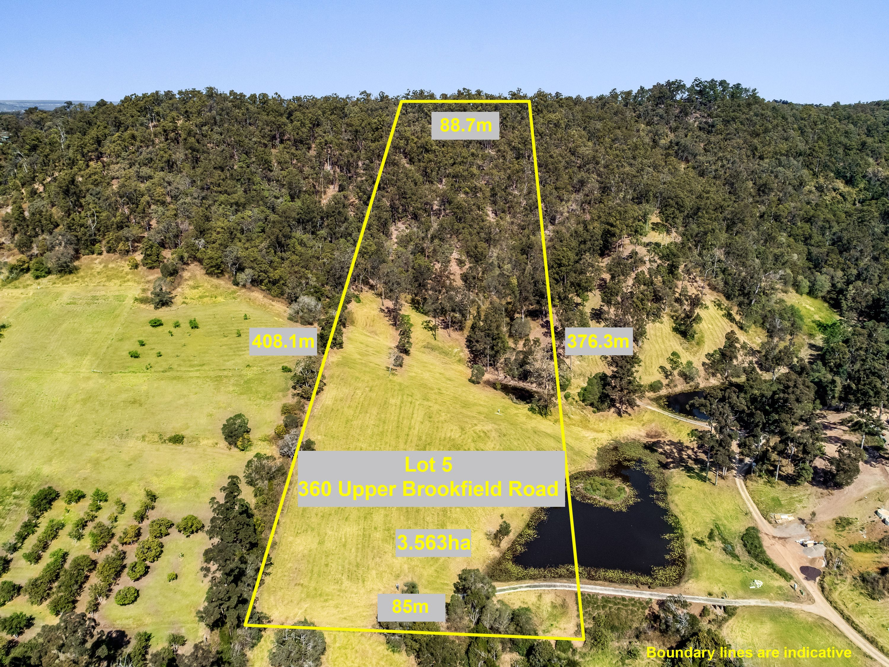 LOT 5/354 Upper Brookfield Road