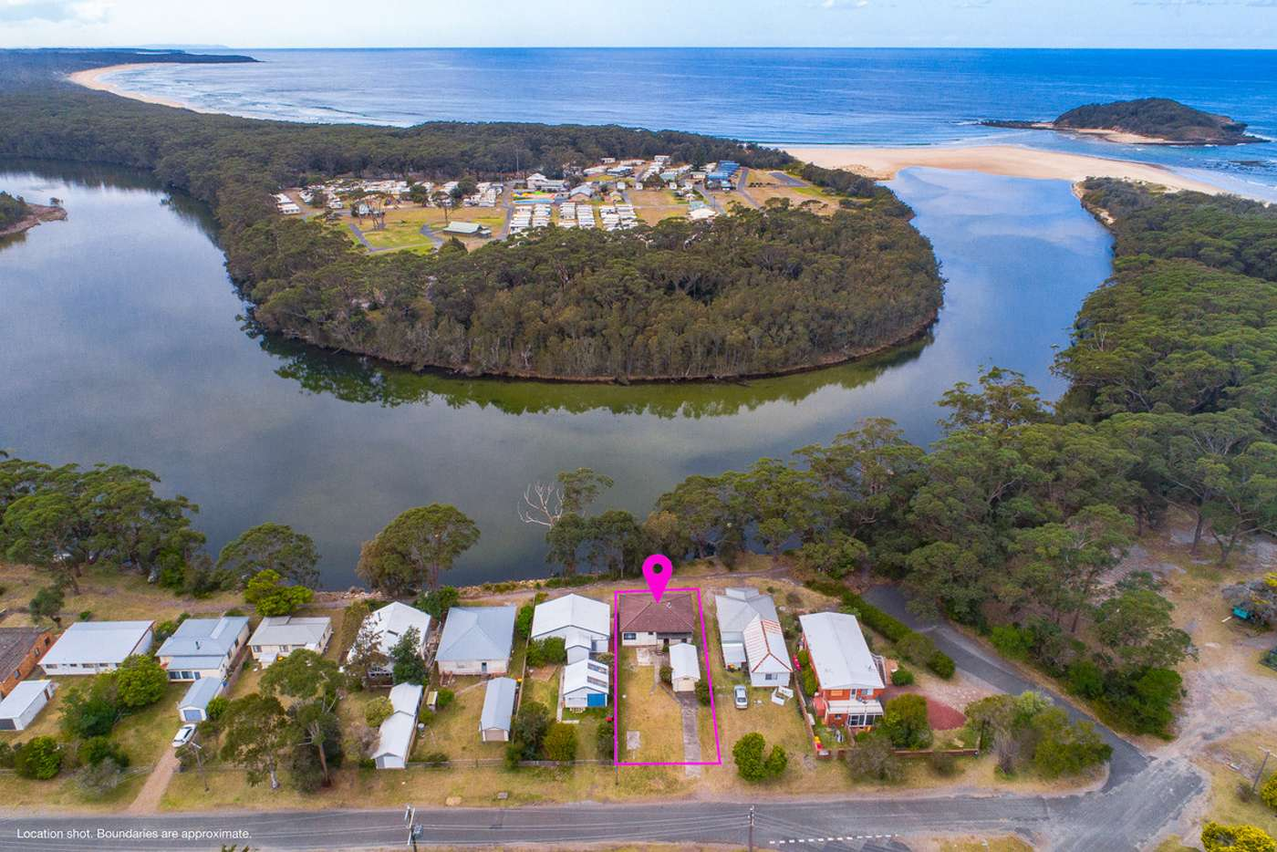Main view of Homely house listing, 28 Centre Street, Lake Tabourie NSW 2539