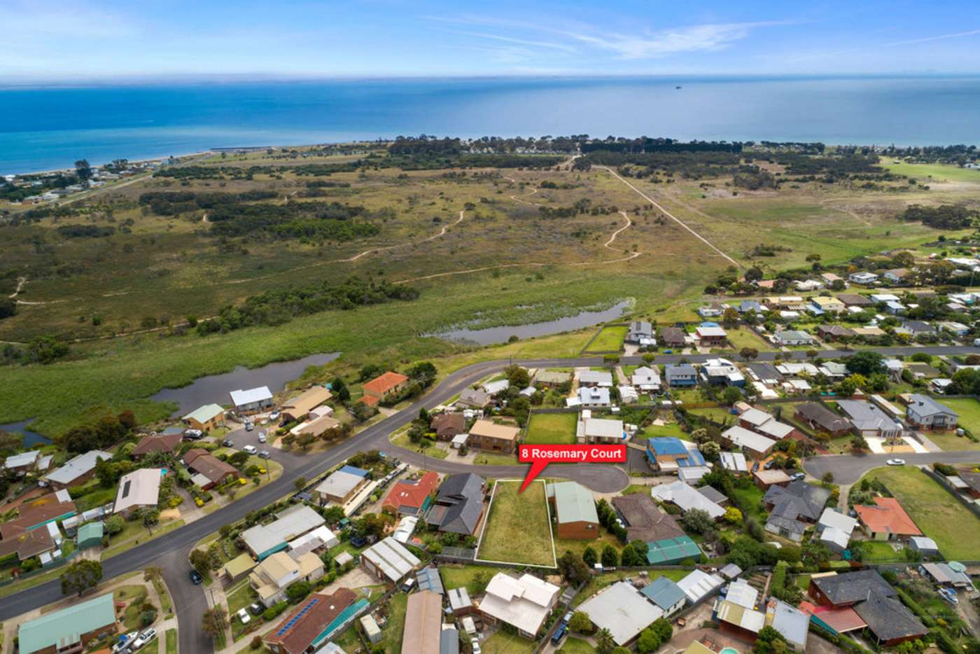 Main view of Homely residentialLand listing, 8 Rosemary Court, Portarlington VIC 3223