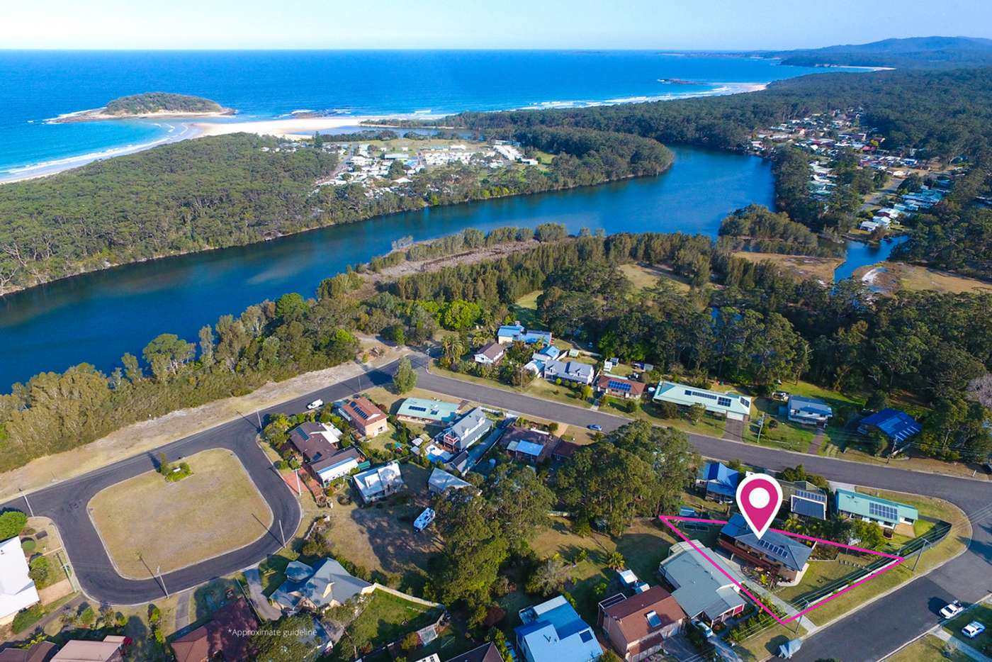 Main view of Homely house listing, 24 Torquay Drive, Lake Tabourie NSW 2539