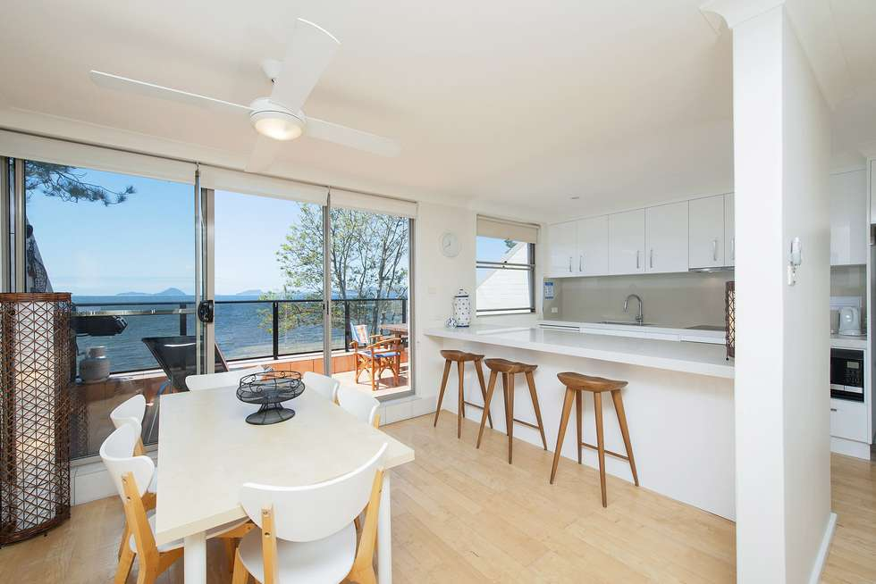 Second view of Homely apartment listing, 5/33 Soldiers Point Road, Soldiers Point NSW 2317