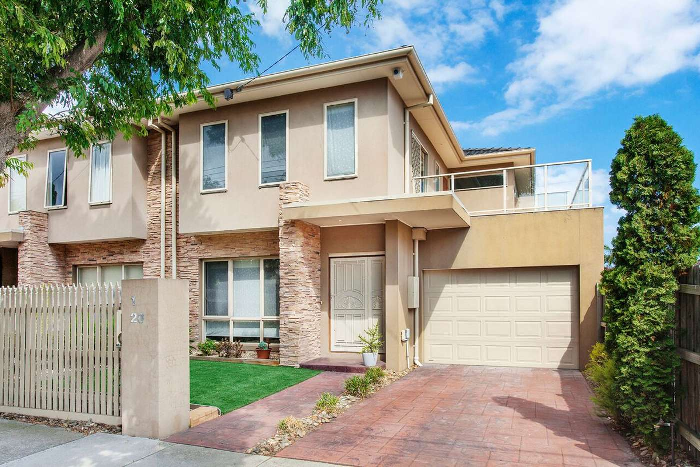 Main view of Homely house listing, 1/20 Park Avenue, Glen Huntly VIC 3163