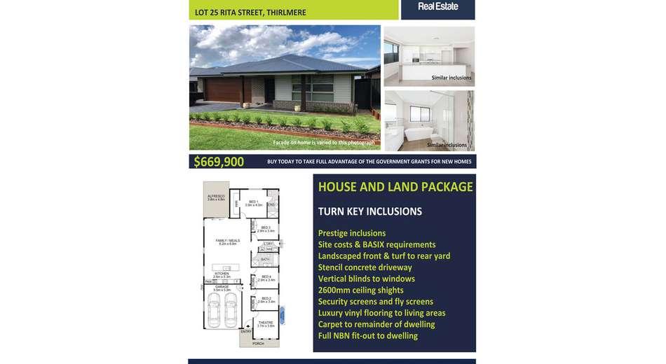 Lot 25 Rita Street, Thirlmere NSW 2572