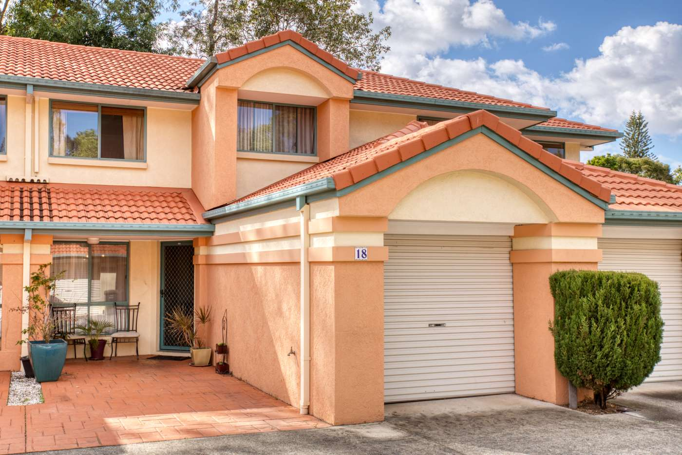 Main view of Homely townhouse listing, 18/2 Pappas Way, Carrara QLD 4211