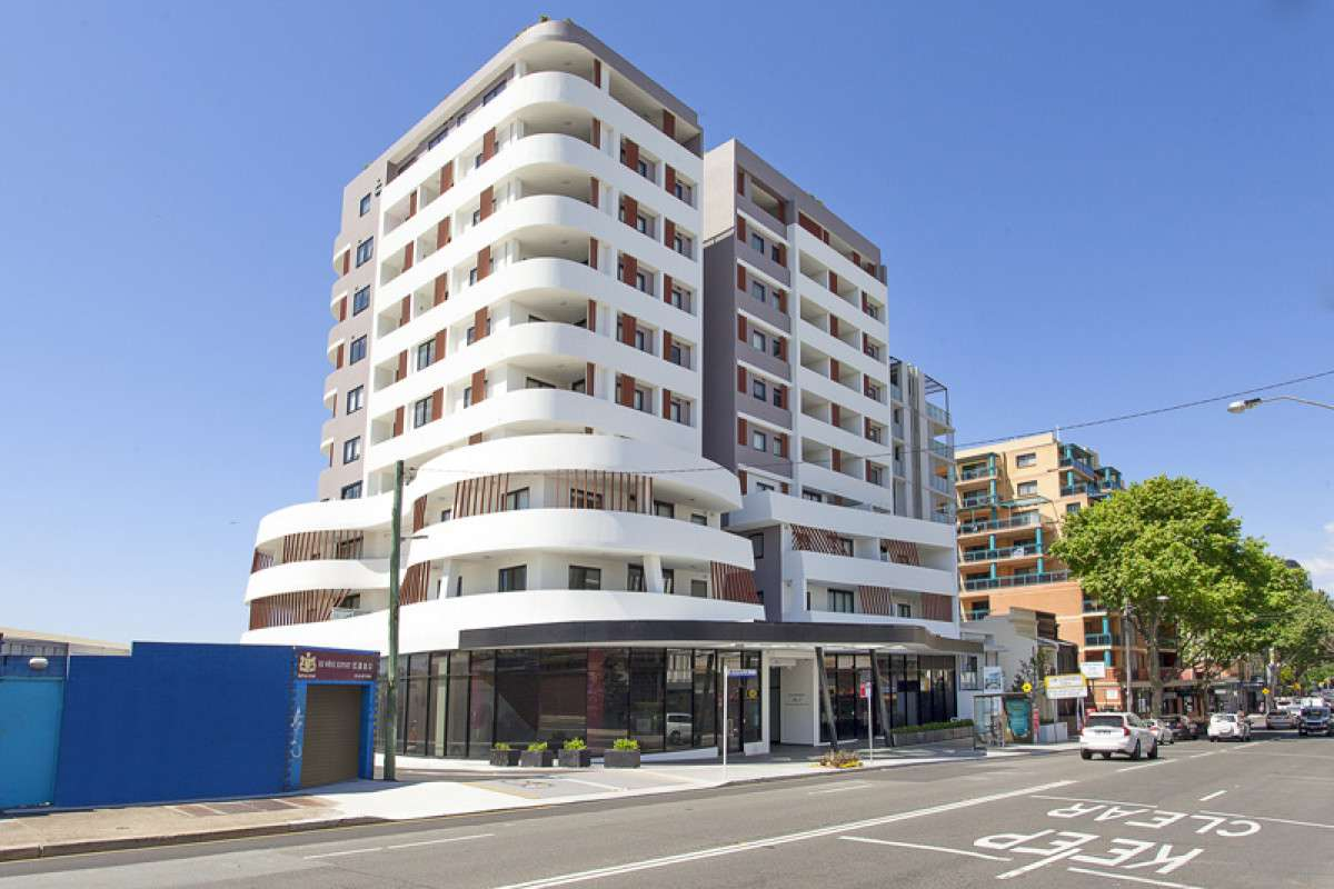 Main view of Homely apartment listing, 504/8 Burwood Road, Burwood, NSW 2134