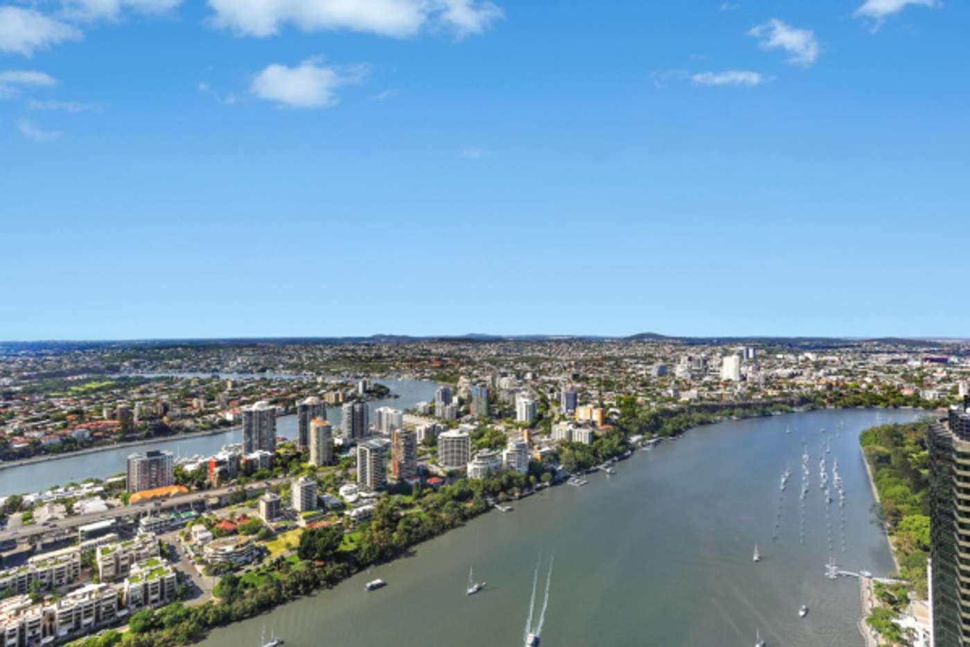 Main view of Homely apartment listing, 4903/71 Eagle Street, Brisbane City QLD 4000
