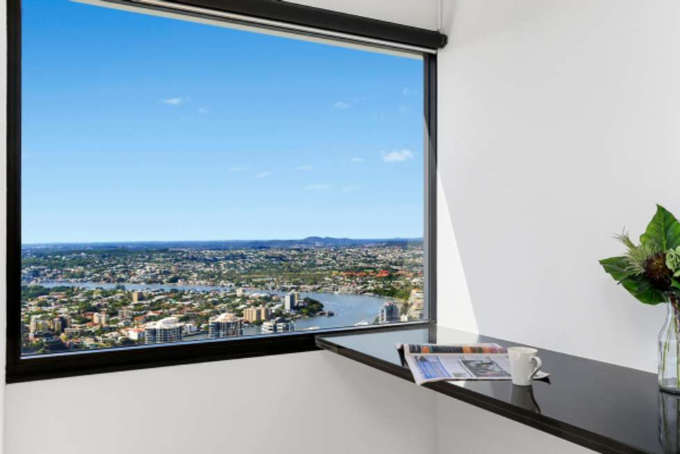 Third view of Homely apartment listing, 4903/71 Eagle Street, Brisbane City QLD 4000