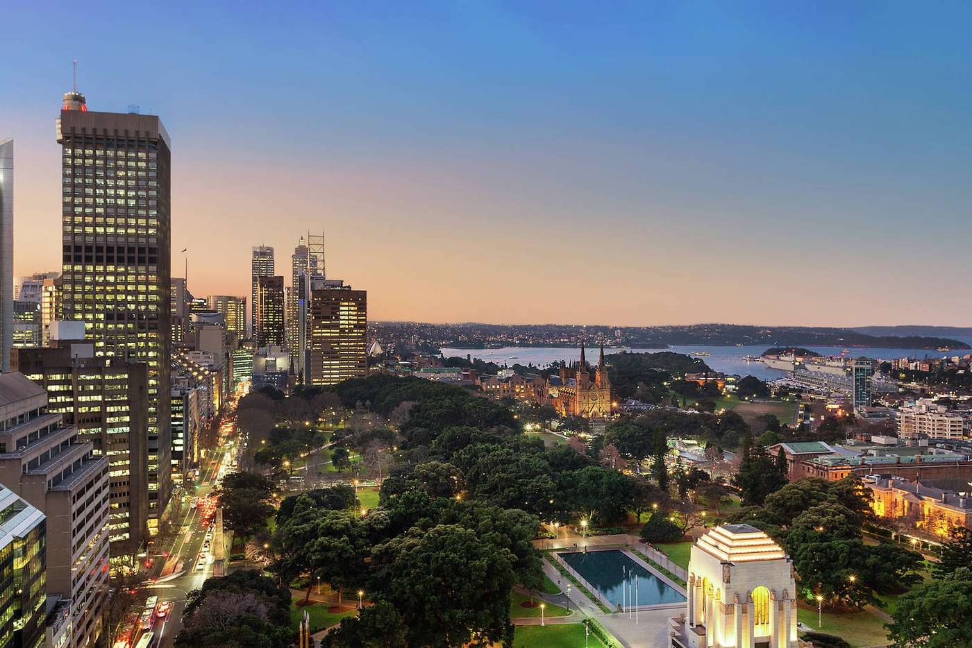 Main view of Homely apartment listing, 2602/130 Elizabeth Street, Sydney NSW 2000