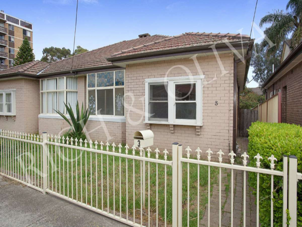 Main view of Homely semidetached listing, 3 Oxford Street, Burwood, NSW 2134