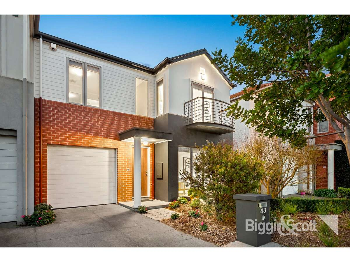 Main view of Homely house listing, 48 The Crescent, Port Melbourne, VIC 3207
