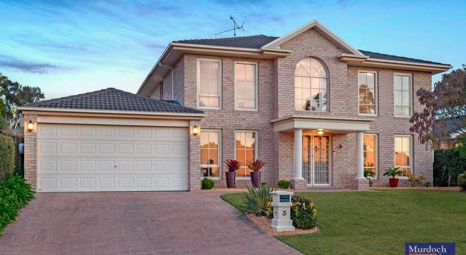 3 Dunbar Place, Kellyville NSW 2155