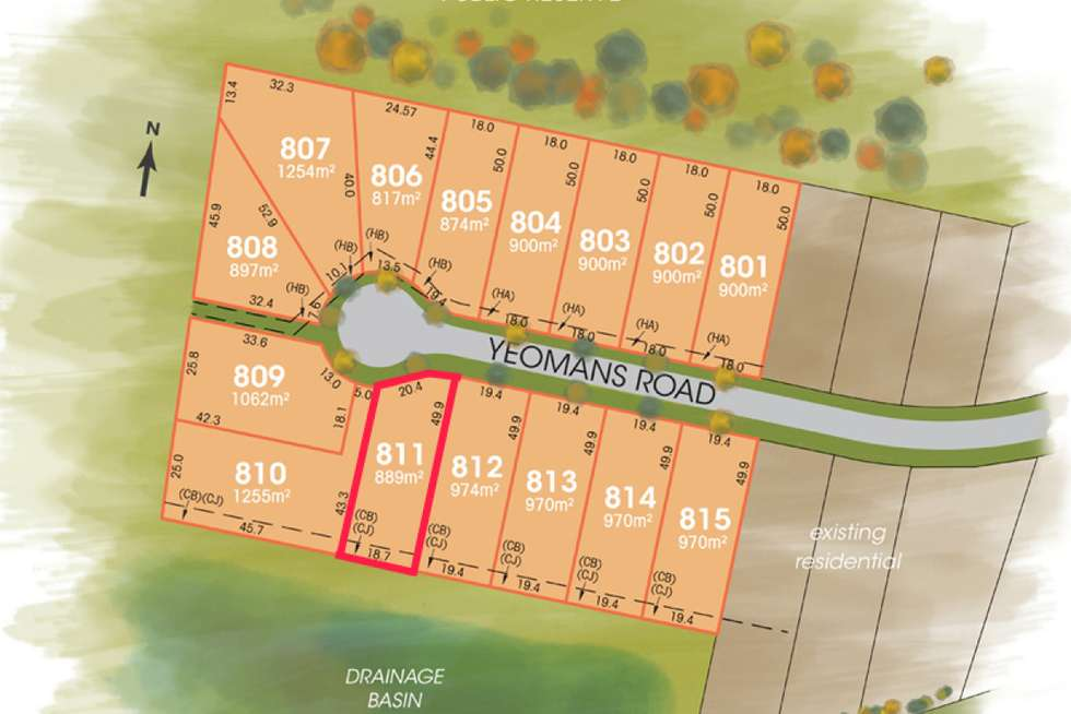 LOT 811 The Foothills Estate, Armidale NSW 2350
