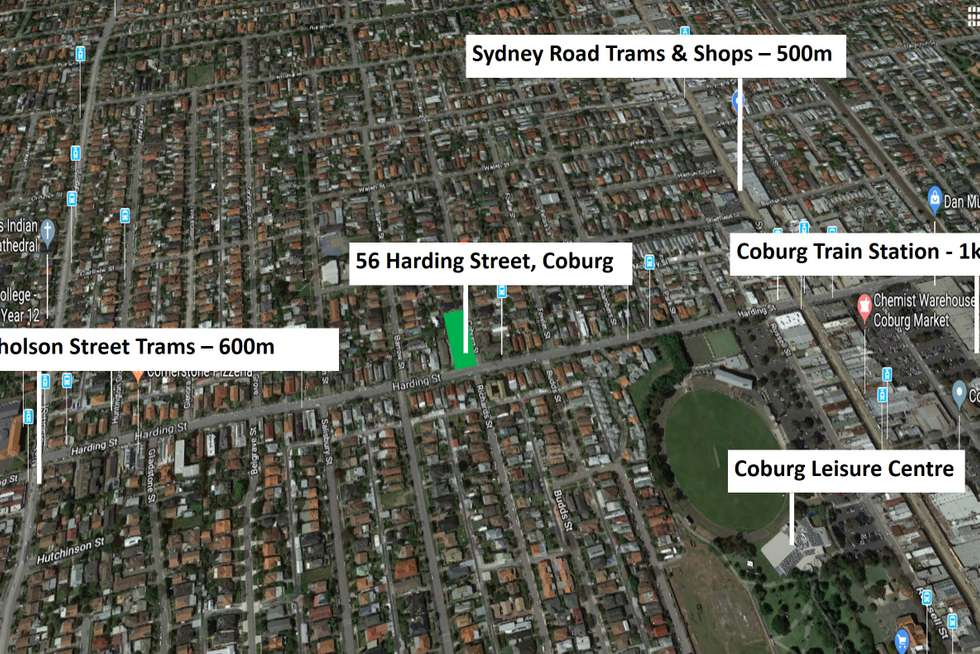 Third view of Homely house listing, 56 Harding Street, Coburg VIC 3058