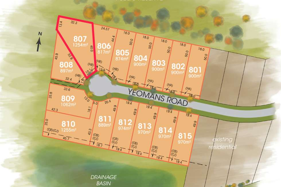 LOT 807 The Foothills Estate, Armidale NSW 2350