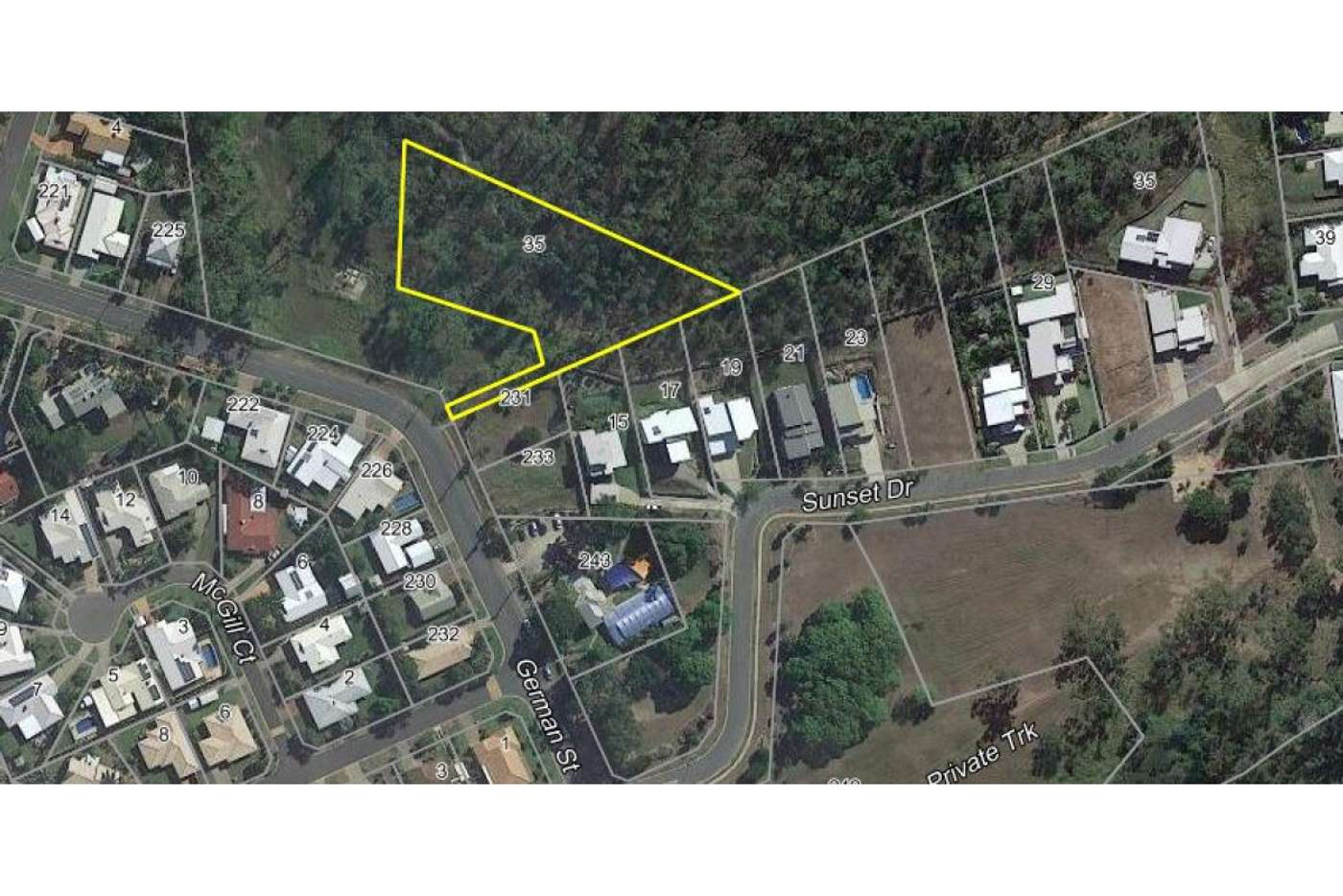 Main view of Homely residentialLand listing, Lot 35 German Street, Norman Gardens QLD 4701