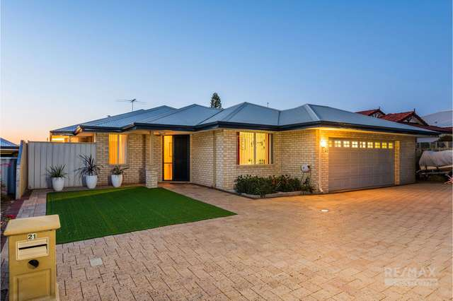 21 Aberfoyle Heights, Currambine WA 6028