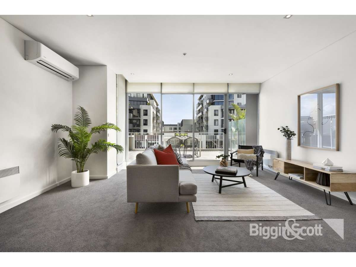 Main view of Homely apartment listing, B404/84 Bay Street, Port Melbourne, VIC 3207