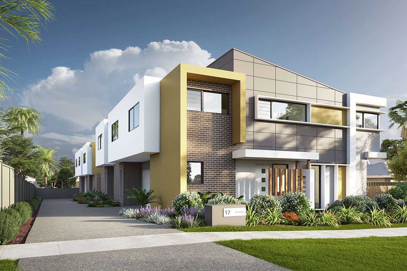 Main view of Homely townhouse listing, 2/17 High Street, Waratah NSW 2298