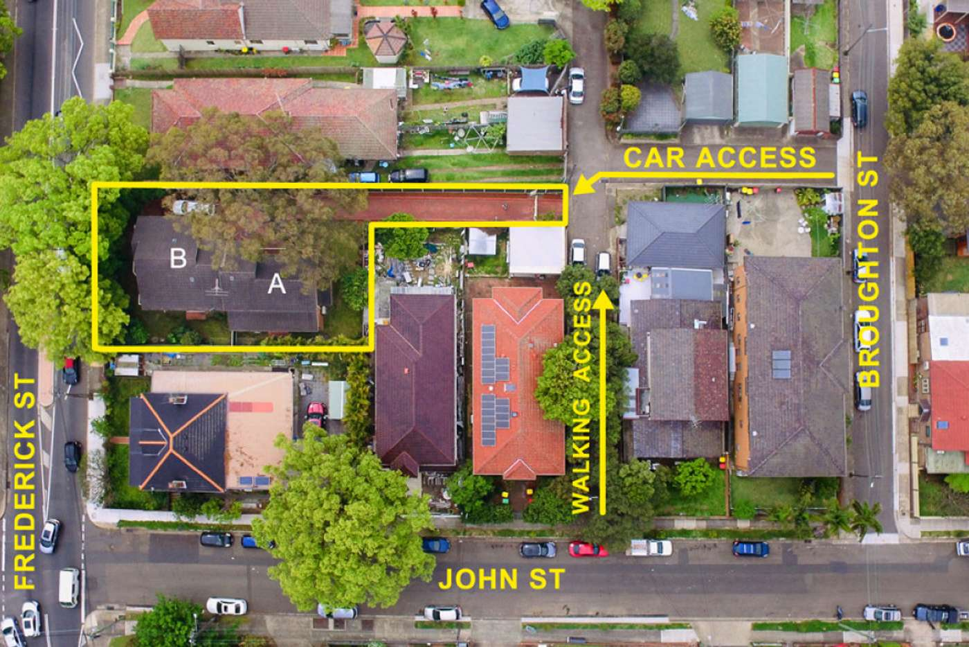 Main view of Homely house listing, 115A & 115B Frederick Street, Ashfield NSW 2131