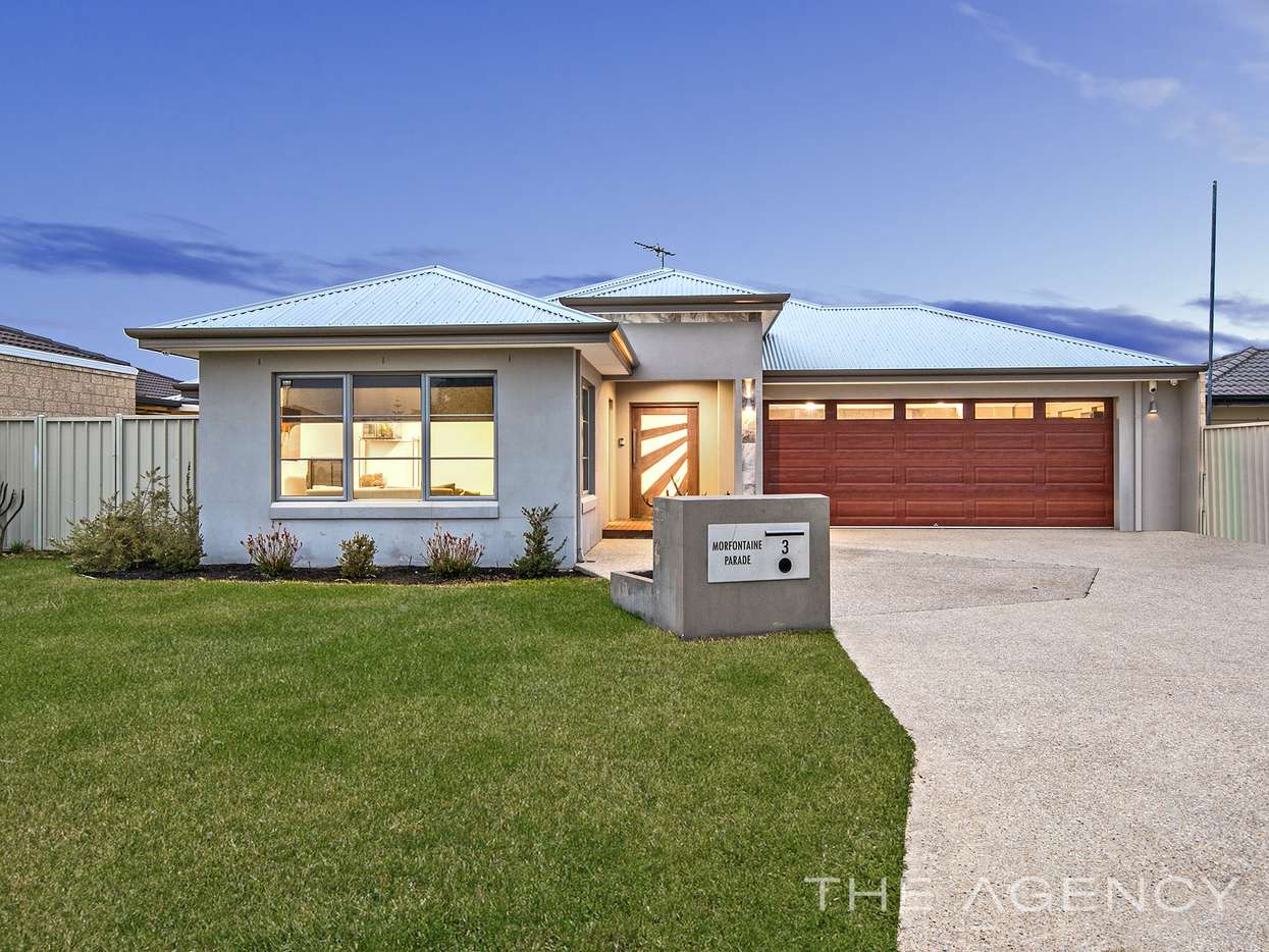 Main view of Homely house listing, 3 Morfontaine Parade, Port Kennedy, WA 6172