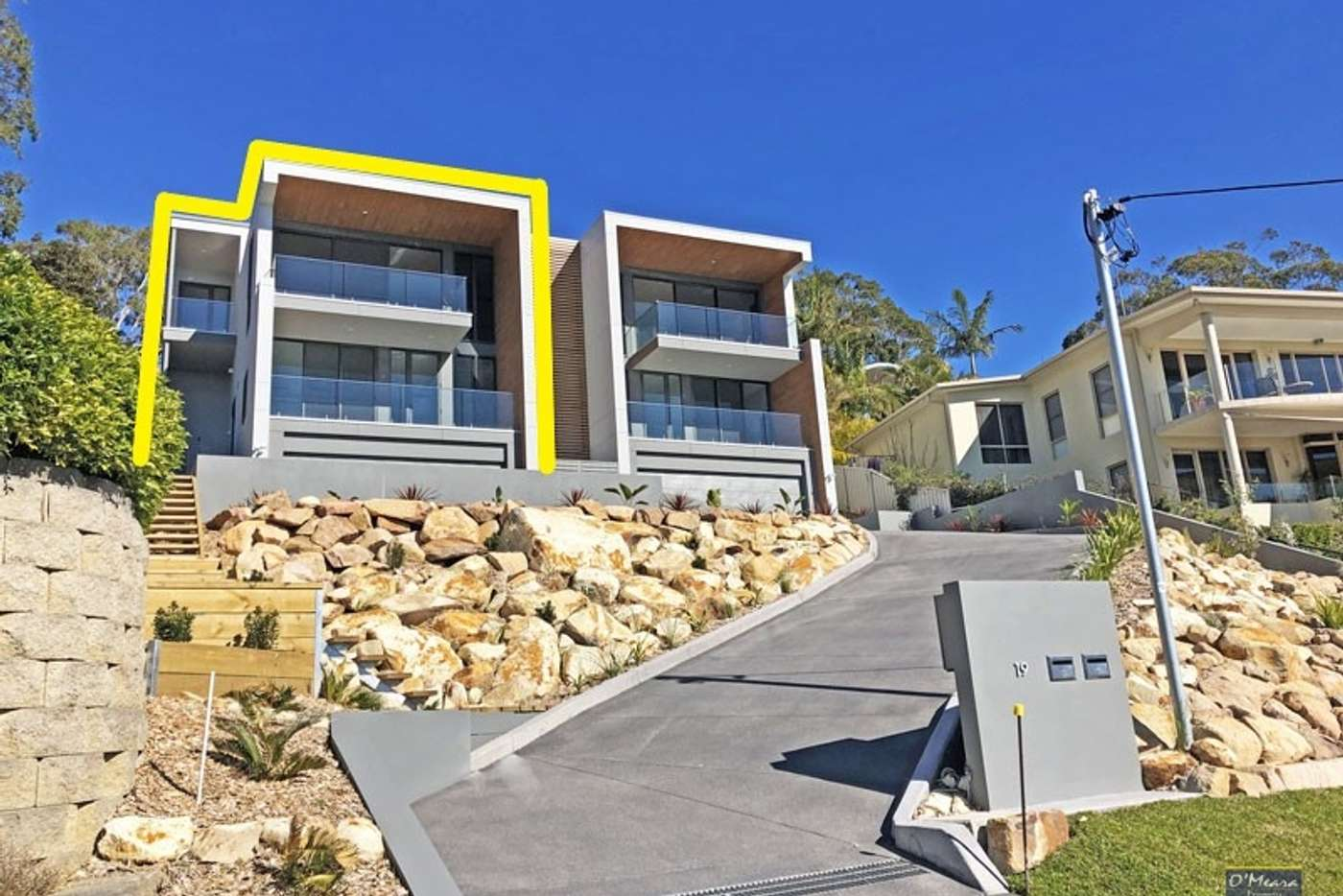 Main view of Homely semiDetached listing, 4/19 Kanangra Avenue, Corlette NSW 2315
