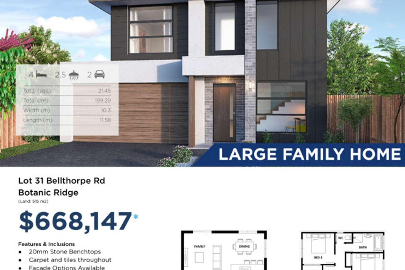 Seventh view of Homely residentialLand listing, 31 Bellthorpe Road, Botanic Ridge VIC 3977