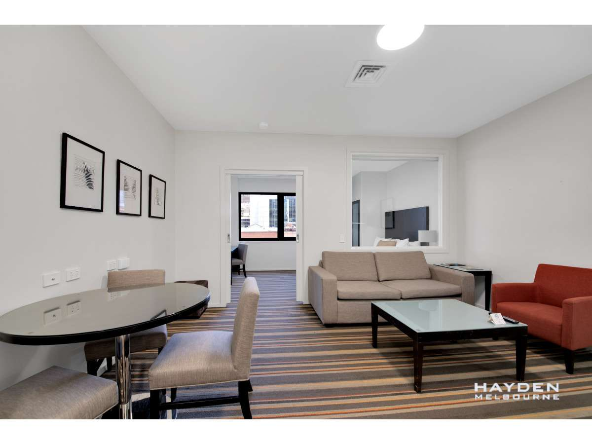 Main view of Homely apartment listing, 816/250 Elizabeth Street, Melbourne, VIC 3000
