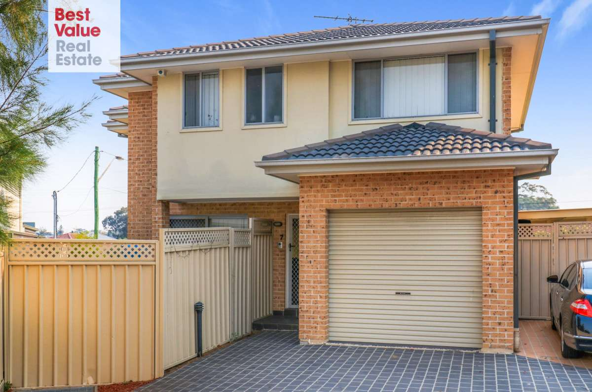 Main view of Homely townhouse listing, 7/1A Davis Road, Marayong, NSW 2148